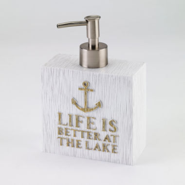 jcpenney.com | Avanti® Lake Words Soap Dispenser