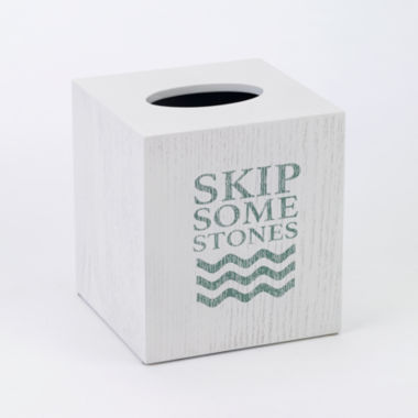 jcpenney.com | Avanti® Lake Words Tissue Cover