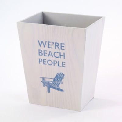 Avanti® Beach Words Wastebasket