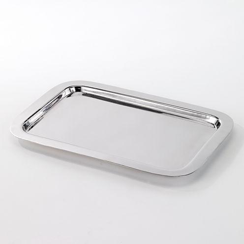 Avanti Mercury Crackle Glass Tray