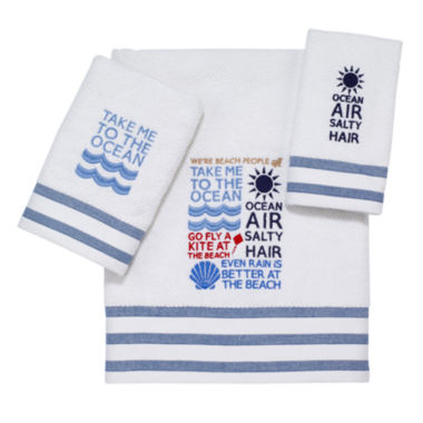 jcpenney.com | Avanti® Beach Words Bath Towels