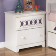 Signature Design by Ashley® Zayley Two-Drawer Nightstand