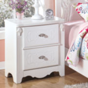 Signature Design by Ashley® Exquisite 2-Drawer Nightstand