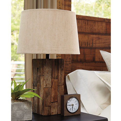 Signature Design by Ashley® Selemah Wood Table Lamp
