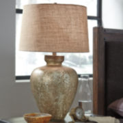 Signature Design by Ashley® Shaunelle Glass Table Lamp