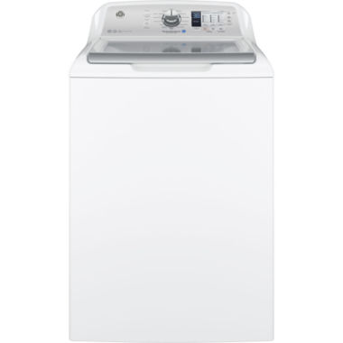 jcpenney.com | GE® ENERGY STAR®  4.6 DOE cu. ft. Stainless Steel Capacity Washer