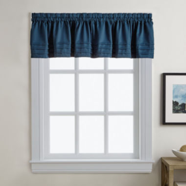jcpenney.com | Addison Solid Twill Rod-Pocket Valance