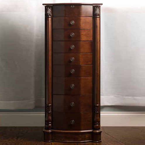 Hives & Honey Florence Walnut Jewelry Armoire
