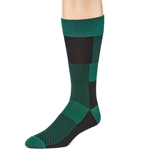 J.Ferrar 1 Pair Crew Socks-Mens