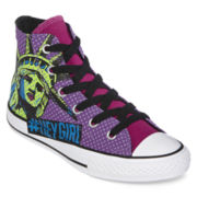 Converse Chuck Taylor All Star Girls High-Top Graphic Sneakers - Little Kids