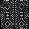 Black/white Aztec