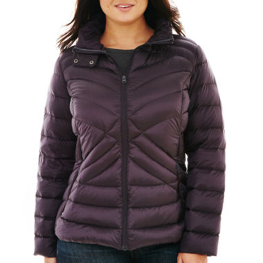 jcpenney.com | a.n.a® Packable Down Jacket - Plus