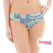 a.n.a® Tribal Print Hipster Swim Bottoms