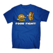 Food Fight Graphic Tee