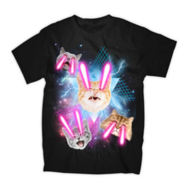 jcpenney.com | Laser Cats Graphic Tee