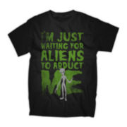 Alien Abduction Graphic Tee