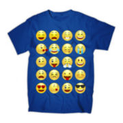 All-Over Expressions Graphic Tee
