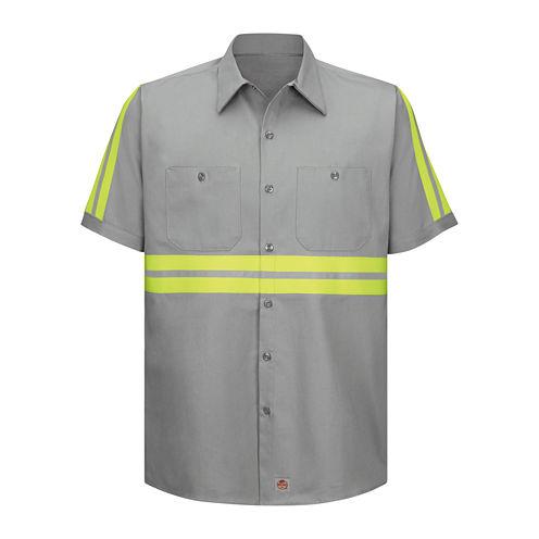 Red Kap® Short-Sleeve Visibility Shirt - Big & Tall