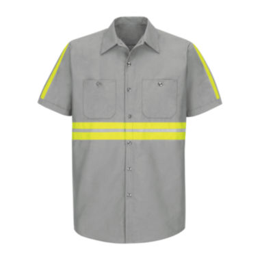 jcpenney.com | Red Kap® Short-Sleeve Visibility Shirt