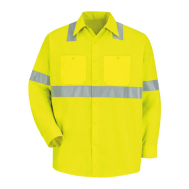 jcpenney.com | Red Kap® Long-Sleeve High-Visibility Shirt - Big & Tall