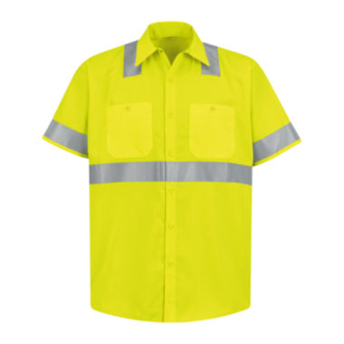 jcpenney.com | Red Kap® Short-Sleeve High-Visibility Shirt
