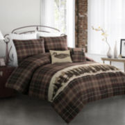 Mountain Woods Lodge Comforter Set