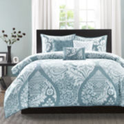 Madison Park Franchesa 6-pc. Duvet Cover Set