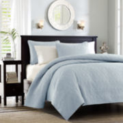 Madison Park Mansfield 3-pc. Coverlet Set