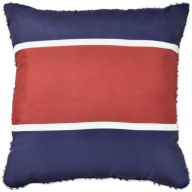 jcpenney.com | Rugby Stripe Square Decorative Pillow