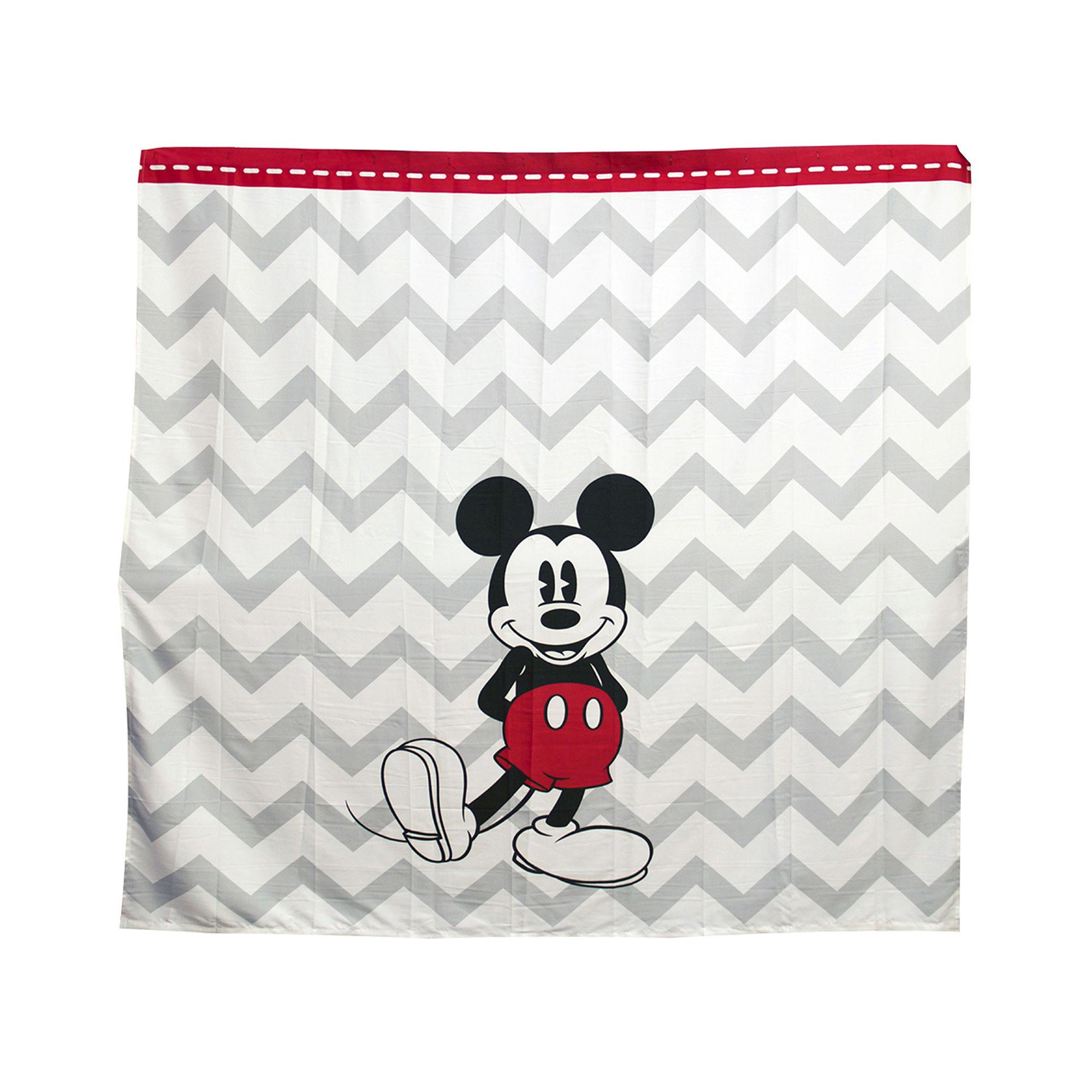 Upc 032281093303 Disney Chevron Mickey Mouse Shower Curtain
