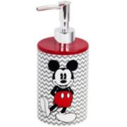 Disney Chevron Mickey Mouse Soap Dispenser