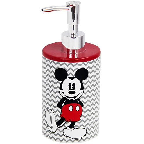 Disney Chevron Mickey Mouse Soap Dispenser
