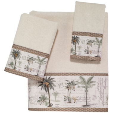 jcpenney.com | Avanti Colony Palm Bath Towels
