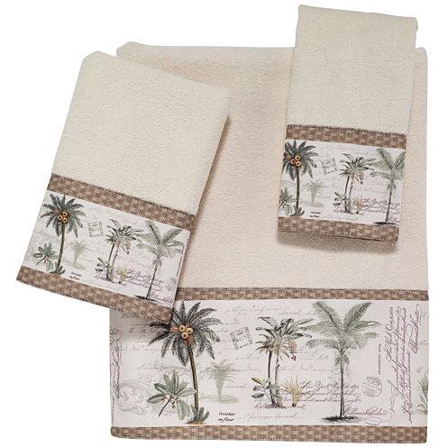 Avanti Colony Palm Bath Towels