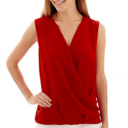 MNG by Mango® Sleeveless Drape Top
