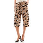 Worthington® Drawstring Gaucho Cropped Pants - Tall