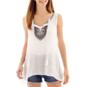 Alyx® Sleeveless Embroidered Top