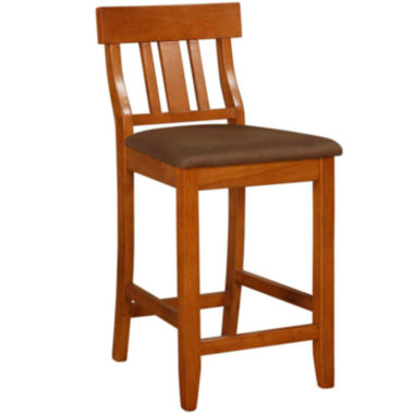 jcpenney.com | Lloyd Upholstered Barstool with Slat Back