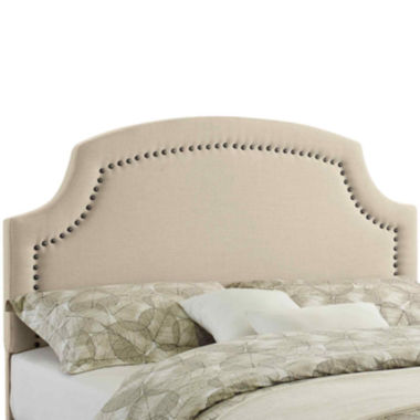 jcpenney.com | Bradenton Upholstered Headboard with Nailhead Trim