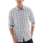 Michael Brandon Long-Sleeve Large Plaid Shirt