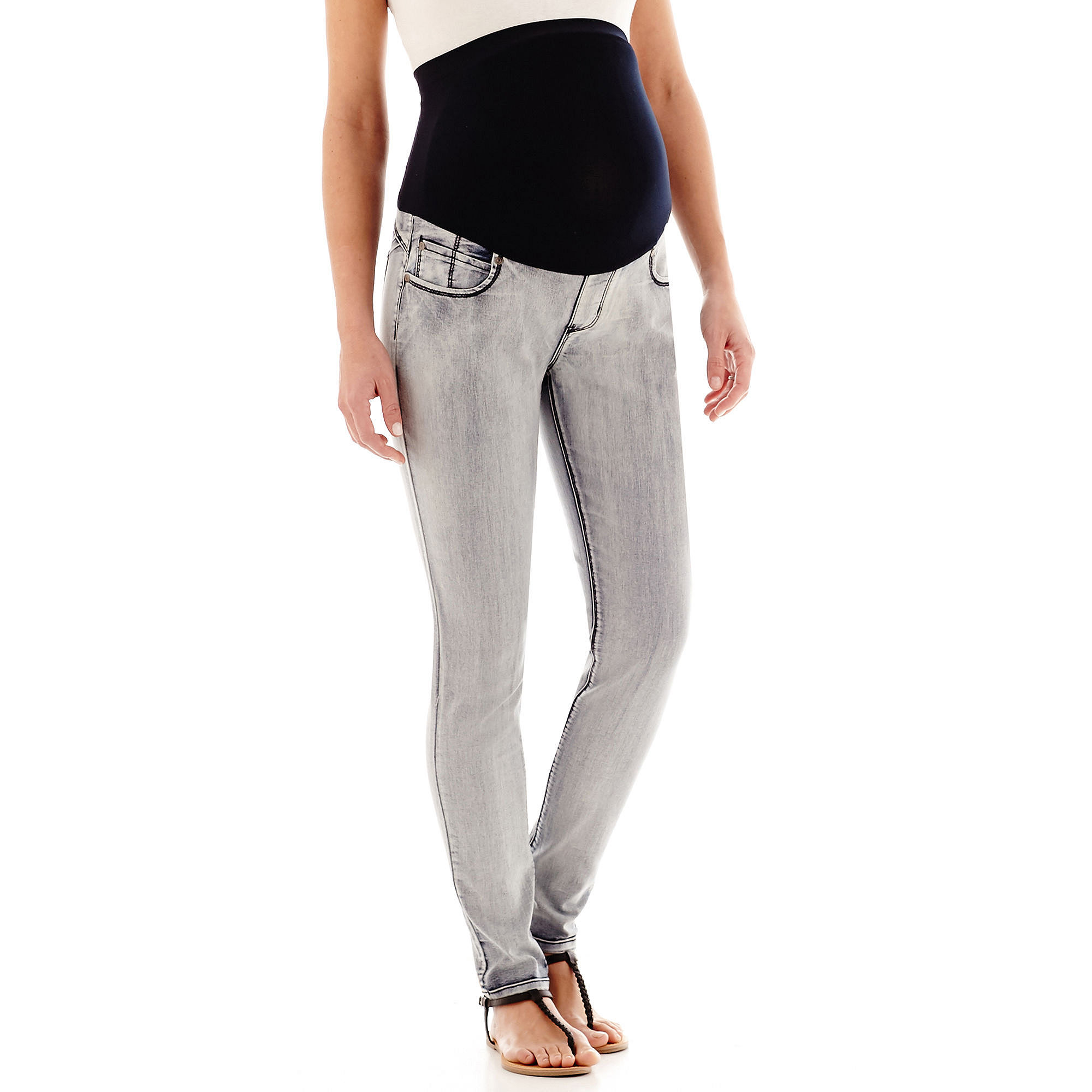 Tala Maternity Overbelly Butt-Lifting Skinny Jeans - Plus