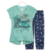 Knit Works® Short-Sleeve Top and Leggings Set - Girls 7-16