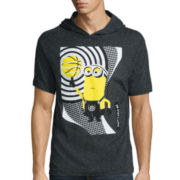 Minions Basketball Short-Sleeve Hoodie