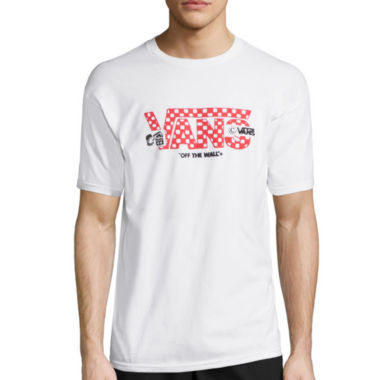 jcpenney.com | Vans® Short-Sleeve Check Box Tee