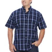 Lee® Short-Sleeve Stretch Print Shirt - Big & Tall