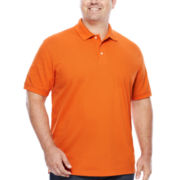 The Foundry Supply Co.™ Short-Sleeve Pique Cotton Polo - Big & Tall