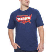 Fifth Sun™ Short-Sleeve Because 'Merica That's Why Tee - Big & Tall