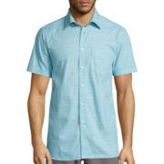 Short-Sleeve Woven Shirt