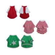 Iconic Pet 3-pk. Assorted Tops
