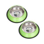 Iconic Pet 2-Pack 3-Cup Color Bowls